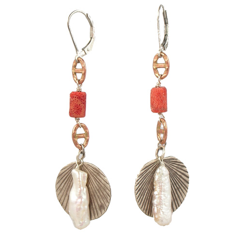Rapz Lever-back earrings